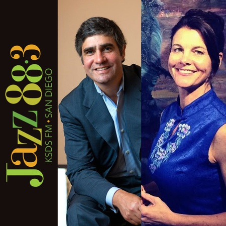 Jazz 88.3 KSDS-FM San Diego Interview with Derrick Cartwright and Elizabeth Washburn