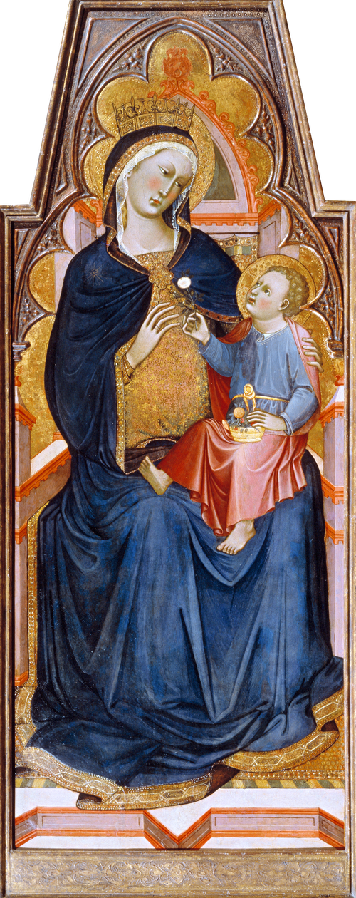 Full view of Madonna and Child