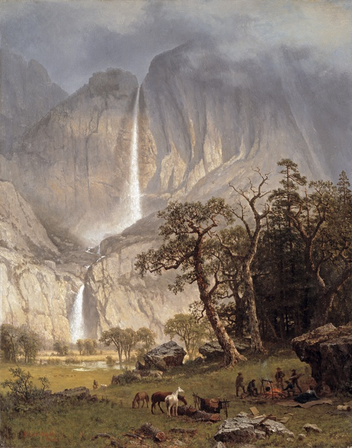 Full view of Cho-looke, the Yosemite Fall