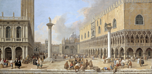 Full view of The Piazzetta at Venice