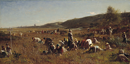 "Timken American Masterpiece ""The Cranberry Harvest"" Featured in the Wall Street Journal"
