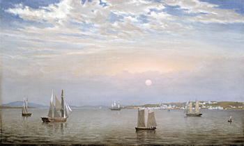 Thumbnail of 'Castine Harbor and Town'