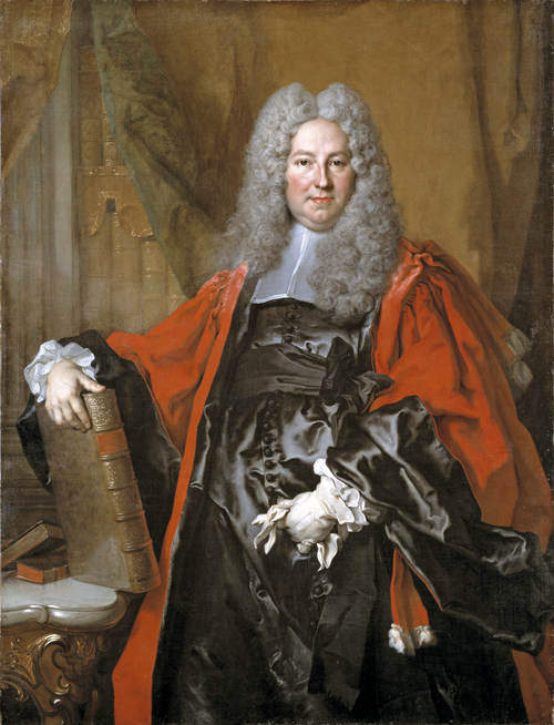 Full view of Portrait of Barthélemy-Jean-Claude Pupil