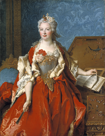 Thumbnail of 'Portrait of Marguerite de Sève, Wife of Barthélemy-Jean-Claude Pupil'