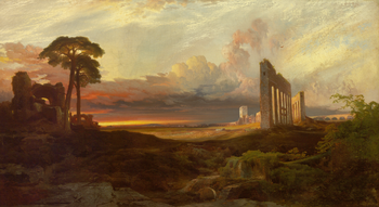 Thumbnail of 'Opus 24: Rome, from the Campagna, Sunset'
