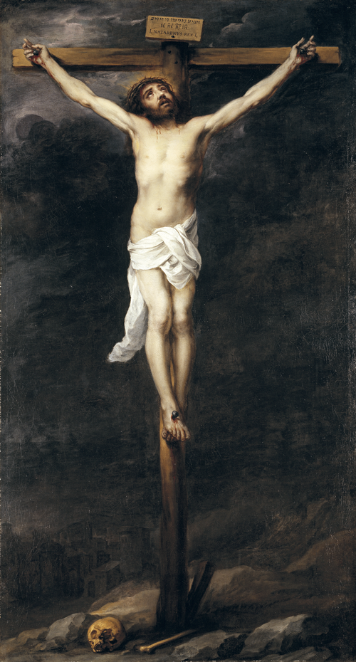 Full view of Christ on the Cross
