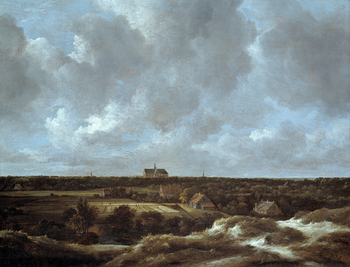 Thumbnail of 'A View of Haarlem and Bleaching Fields'