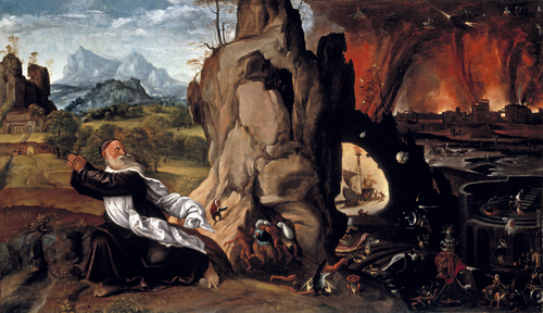 Full view of Torment of St. Anthony