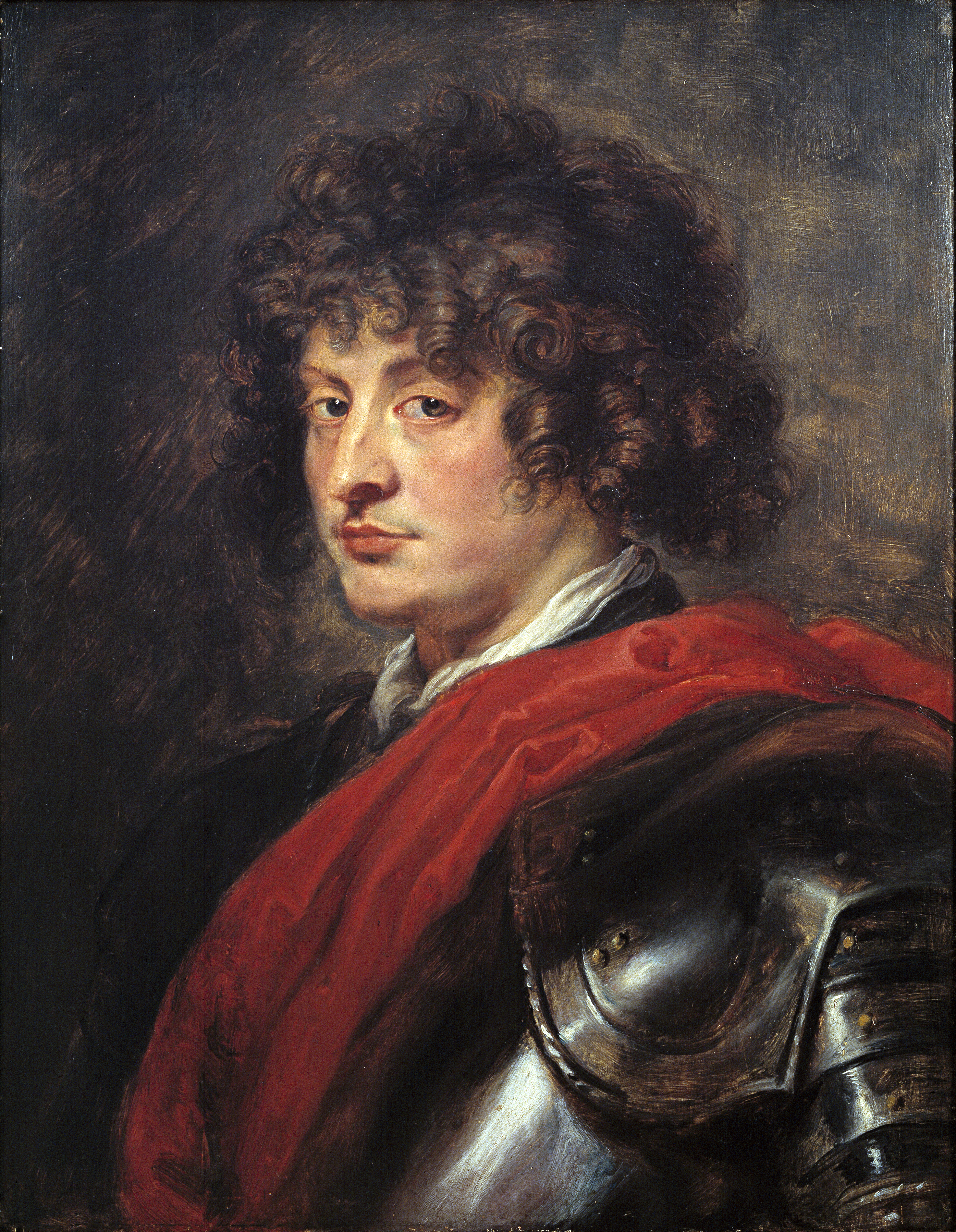 portrait of a young man in armor timken museum