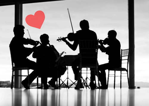 Image for Music & Masters: Love is in the air… an evening for Romantics